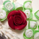 torta elegante sposi