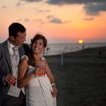 Matrimonio in spiaggia elegante